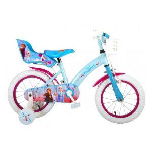 Disney Frozen 2 kids Bicycle Girls 14 inch Blue/Purple
