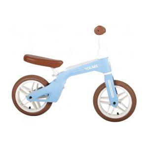 Volare Balance Bike Boys and Girls 10 inch Blue