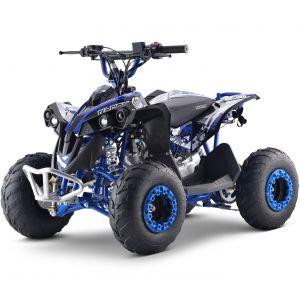 Outlaw quad on petrol 110cc automatic blue