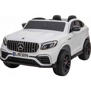 Mercedes electric kids car GLC63s 2-seater white