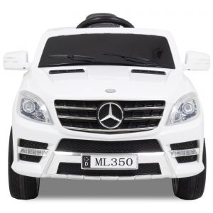 Mercedes ML350 kidscar white front view
