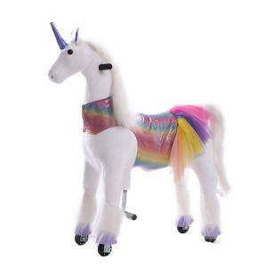 Kijana unicorn riding toy Sunshine large