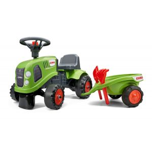 Falk Baby Case IH ride-on tractor green prijstechnisch electrickidscar