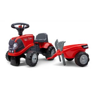 Falk Baby Case IH ride-on tractor red prijstechnisch electrickidscar
