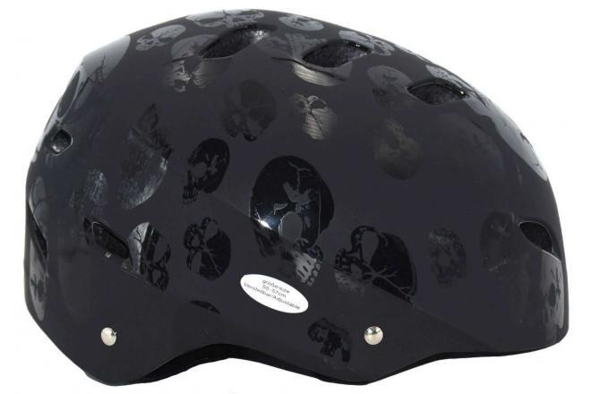 Volare Bicycle/Skate helmet Skull 55-57 cm