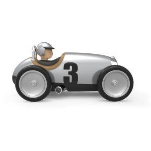 Baghera Retro toy car Racer silver