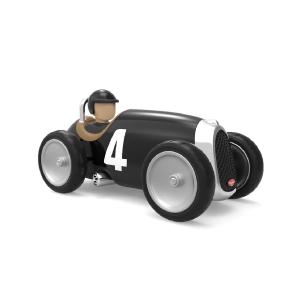 Baghera Retro toy car Racer black