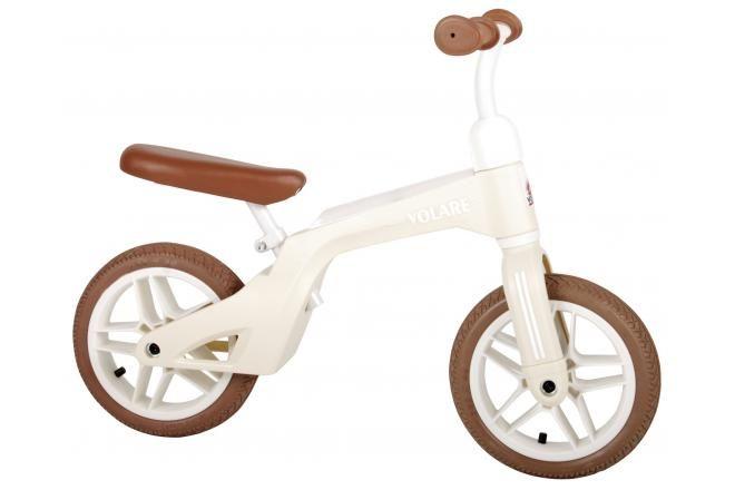 Volare Balance Bike Boys and Girls 10 inch Cream