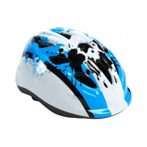 Volare kids Bicycle Helmet XS Blue White 47-51 cm extra small model