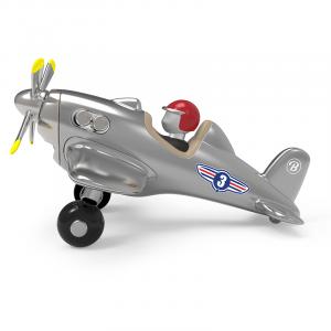 Baghera fighter jet silver