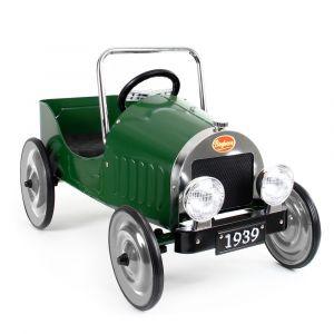 Baghera Classic Retro pedal car green