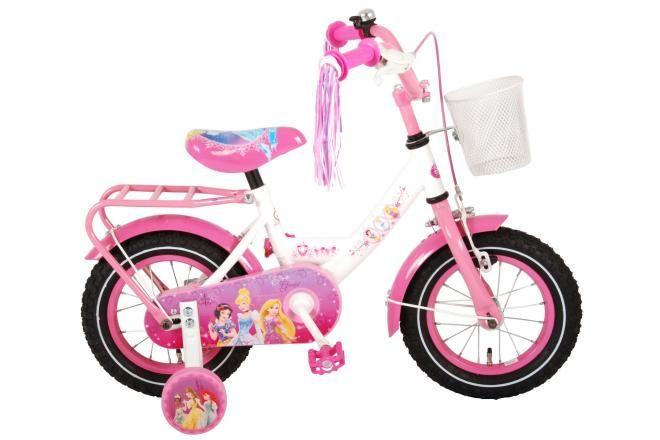 Disney Princess kids Bicycle - Girls - 12 inch - Pink - 95% assembled