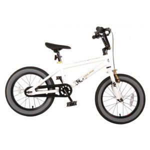 Volare Cool Rider kids Bicycle Boys 16 inch White 95% assembled