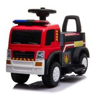 Kijana walking car fire truck