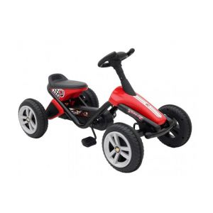 Volare Mini Go-Kart Boys and Girls Red