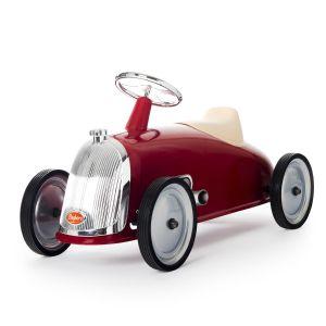 Baghera walking car Rider retro red