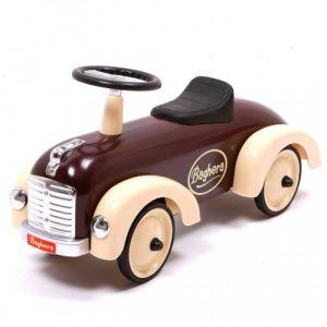 Baghera loopauto Speedster retro bruin