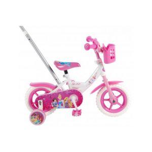 Disney Princess kids bicycle - Girls - 10 inch - Pink / White