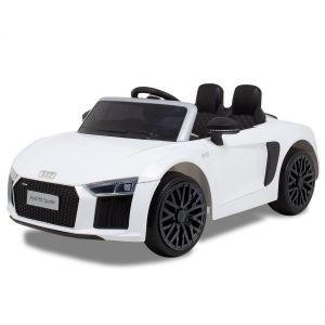 Audi electric kids car R8 convertible white