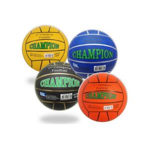 Street football Champion - Rubber - size 5 - 380-420 grams - Different Colors - Assorted