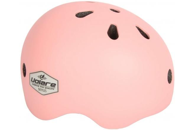 Volare Bicycle Helmet - Kids - Light Pink - 51-55 cm