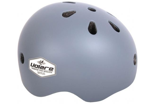Volare Cycling Helmet Kids Gray 45-51 cm