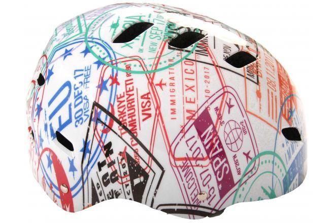 Volare Bicycle/Skate helmet Travel the World 55-57 cm