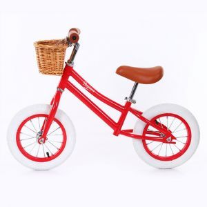 Baghera balance bike Vintage red
