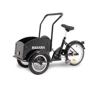 Kijana mini cargo bike - black