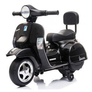 Mini vespa electric kids scooter black