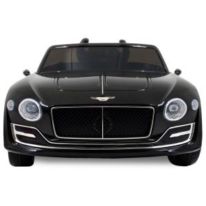 Bentley Continental kidscar black front view