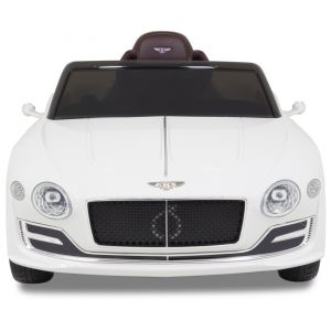 Bentley Continental kidscar white front view