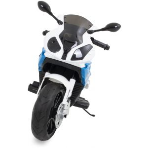 BMW kids electric motor blue front view