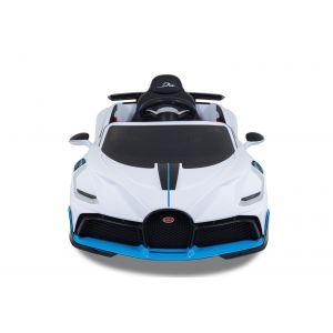 Bugatti Divo kidscar white front view