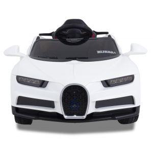 Sport Bugatti Style kidscar white front view