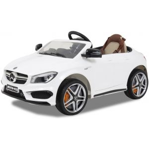 Mercedes kids car CLA45 AMG white
