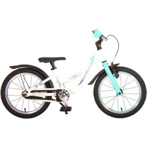 Volare Glamor Kids Bicycle Girls 16 inch Mother of Pearl Mint Green Prime Collection