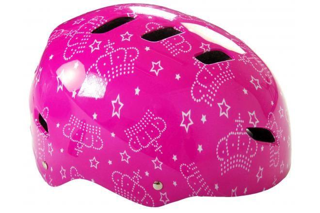 Volare Bicycle/Skate Helmet Pink 55-57 cm