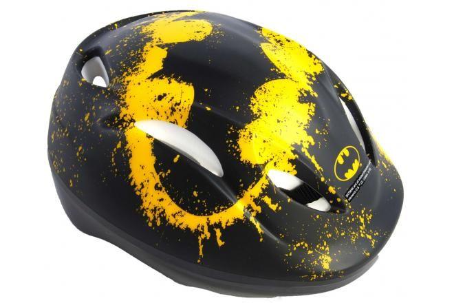 Batman boys bicycle helmet - Black - 51-55 cm