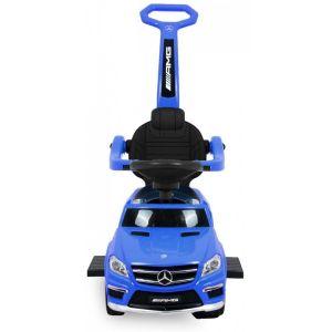 Mercedes GL63 AMG push kidscar blue front view