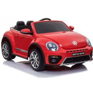 VW electric kids car Dune Beetle red