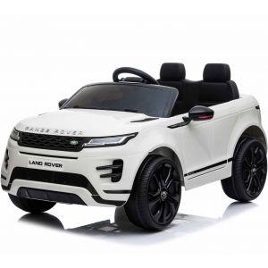 Range Rover electric kids car Evoque white