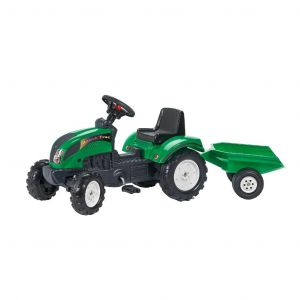 "Falk tractormet pedalen""trac"" groen"