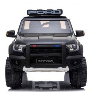 Police Ford Raptor kidscar black prijstechnisch outdoortoys4kids
