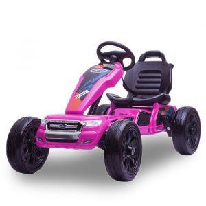 Ford go-kart pink