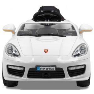 Speedster OC kidscar 12V white front view headlights