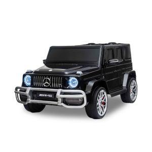 Mercedes electric kids car G63 2 seater black