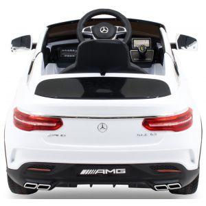 Mercedes GLE63 AMG convertible kidscar white side view