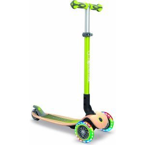Globber kids scooter Primo Lights wood green