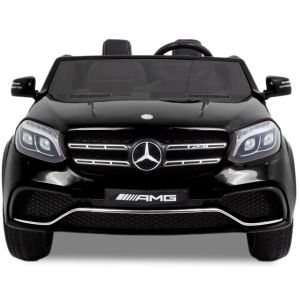 Mercedes GLS AMG kidscar black front view headlights